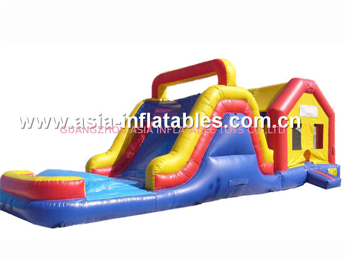 Double Slide Inflatable Combo,Inflatable slide For Sale dostawca
