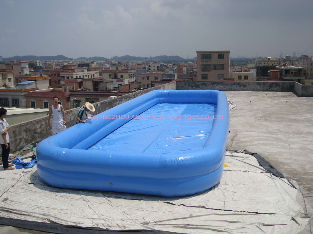 Lovely New Design Huge Commercial PVC Adults and Kids Inflatable Pool with Various Colours dostawca