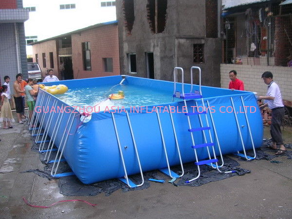 Hiqh Quality Durable Kids Inflatable Pool with Metal Structure dostawca