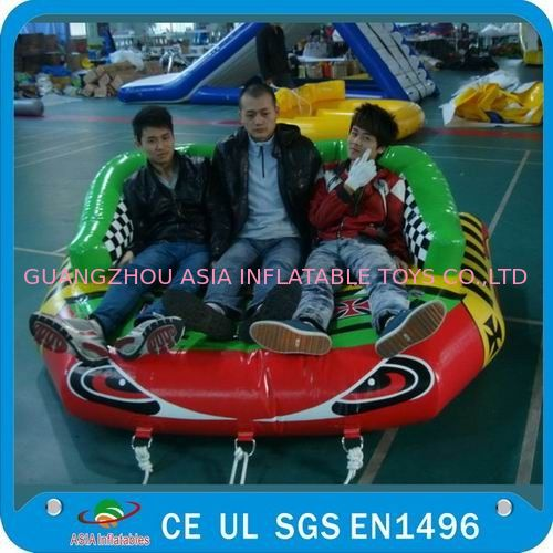 Inflatable Eagle Eyes Water Sofa, Inflatable Towable Water Sports dostawca