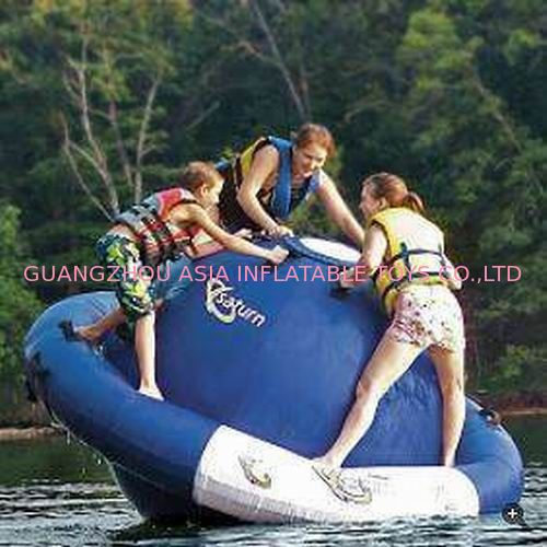 Inflatable Water Floating UFO For Water Park Amusment Sports Games dostawca