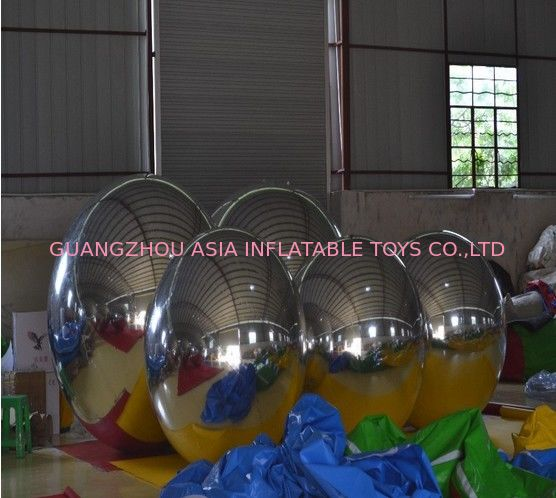 Wholesale Price PVC Double Layer Inflatable Mirror Ball For KTV Decoration dostawca