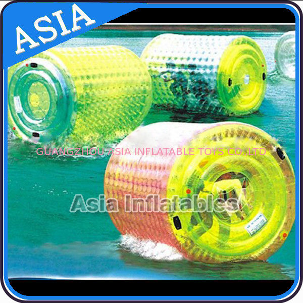 Colourful Inflatable Water Walking Roller for outside activity , dostawca