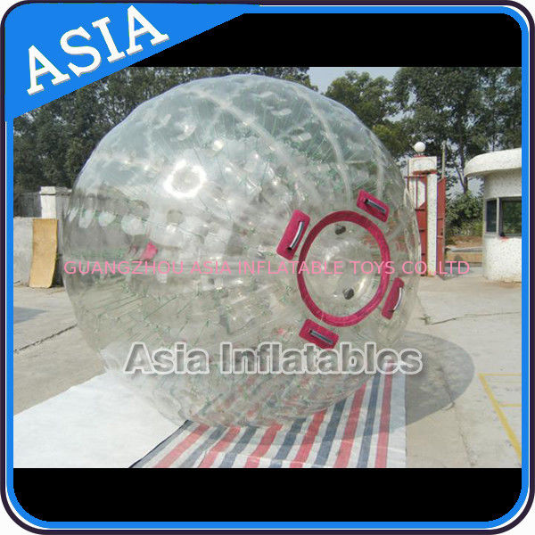 1.0mm PVC Inflatable Zorb Ball With One Entrance and Plug dostawca