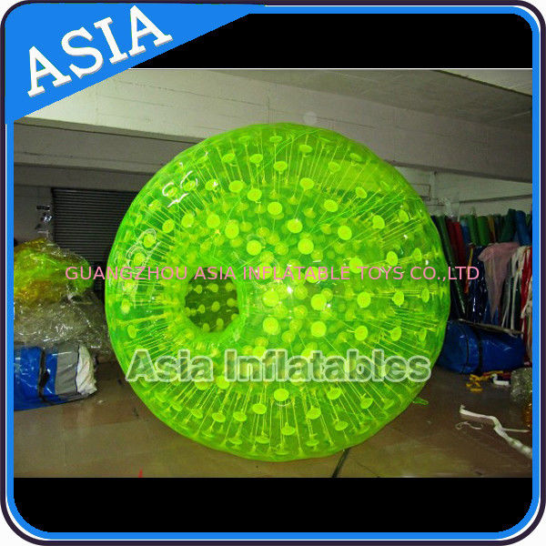 Colorful Inflatable Zorb Ball , PVC / TPU Customized Ball for Sports Entertainment dostawca