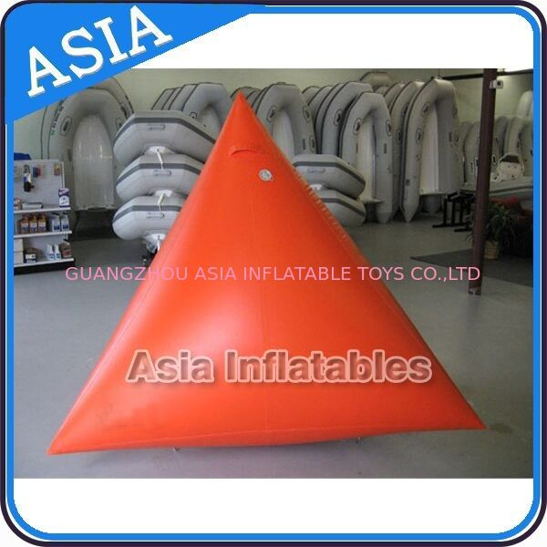 Orange Color Commercial Use  Inflatable Buoy For Water Park Paintball Bunker dostawca