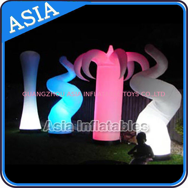 Oxford Fabric LED Light Inflatable Horn Decorations