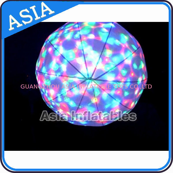LED Light  Helium Balloon And Blimps , Flying Advertising Colorful Inflatables dostawca